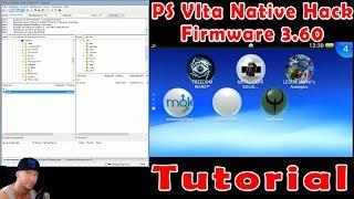 PS Vita Native Hack Firmware 3.60 Tutorial