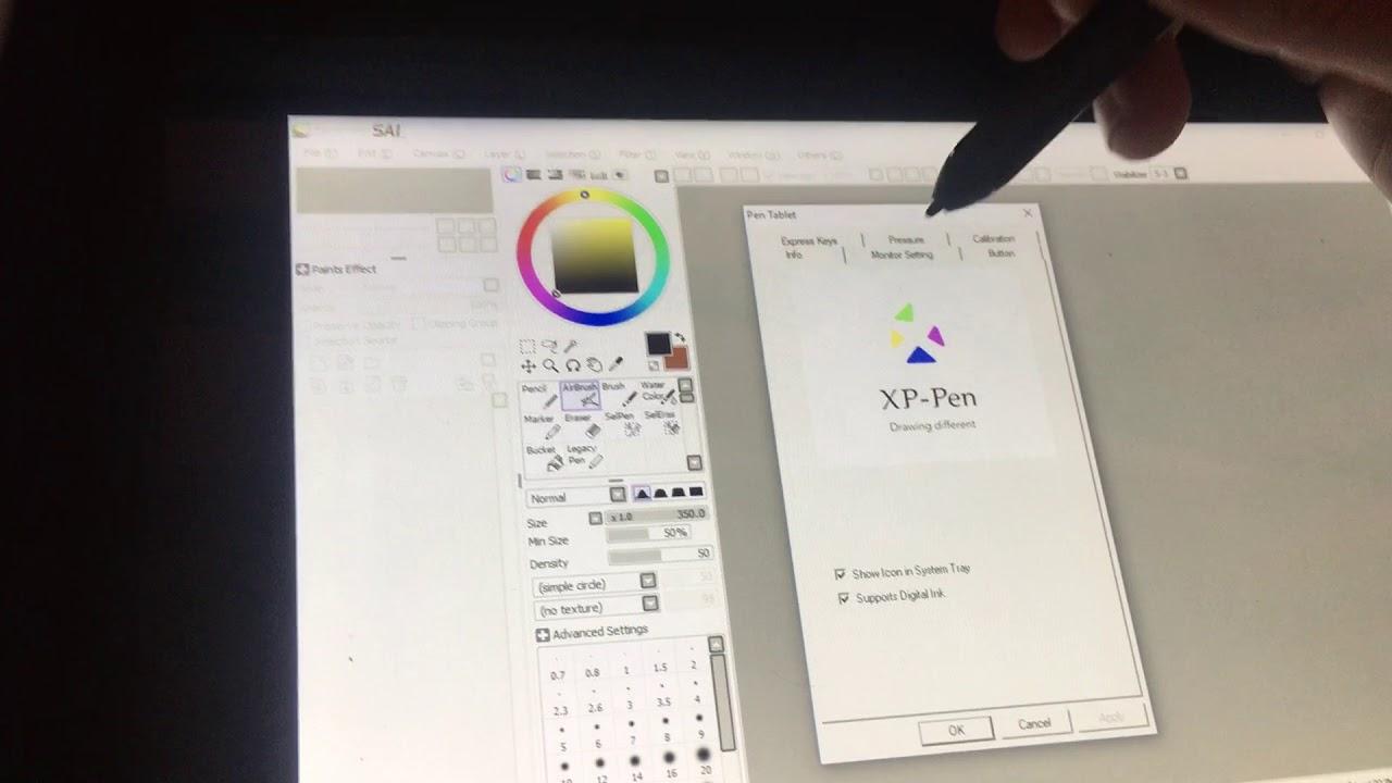 XP-Pen Artist 10s Not Working Properly Demo