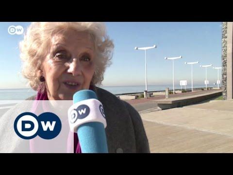 Estela de Carlotto, en exclusiva para Deutsche Welle