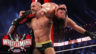 Cesaro and Seth Rollins match strength in high-level clash: WrestleMania 37 – Night 1