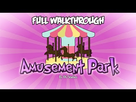 Amusement Park [STORY] 🎡 {EARLY ACCES} - Full Walkthrough - Roblox