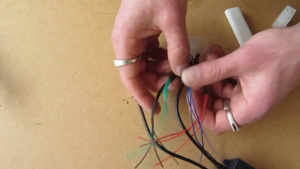 Led Lighting Wiring Diagram Can Am Outlander 650 How To Connect Wire A Rgb Strip 12v Youtube