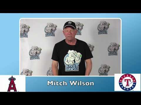 Texas Rangers vs Los Angeles Angels Free Pick 8/7/20 MLB Pick and Prediction