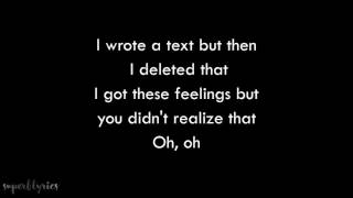 Conor Maynard - i hate u, i love u (Lyrics)