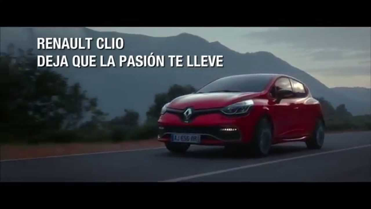 anuncio renault clio 2016 youtube. Black Bedroom Furniture Sets. Home Design Ideas