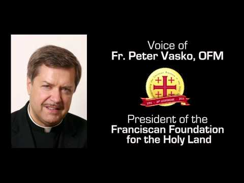 Fr. Peter Vasko, ofm - Interview on Guadalupe Radio about the Christians in the Holy Land.