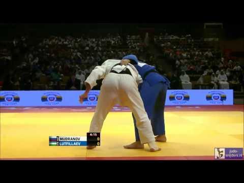 Judo 2013 Grand Prix Abu Dhabi: Mudranov (RUS) - Lutfillaev (UZB) [-60kg] final