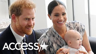 Prince Harry Cradles Baby Archie In Never-Before-Seen Footage From Royal Tour!