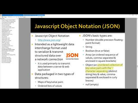 Android Lecture 5 10 - JSON Array and JSON Objects - YouTube