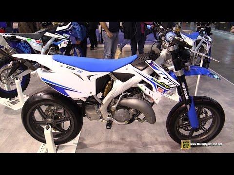 2015 TM Racing SMM 125 - Walkaround - 2014 EICMA Milan Motorcycle Exhibition