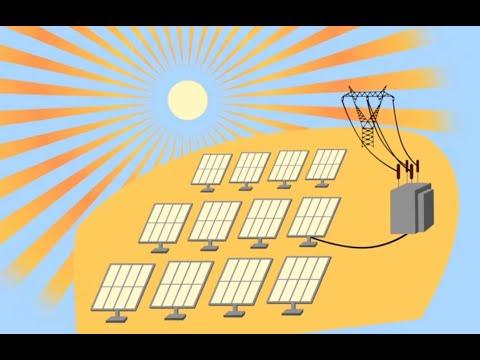 Funcionamiento De Una Central Solar Fotovoltaica Youtube