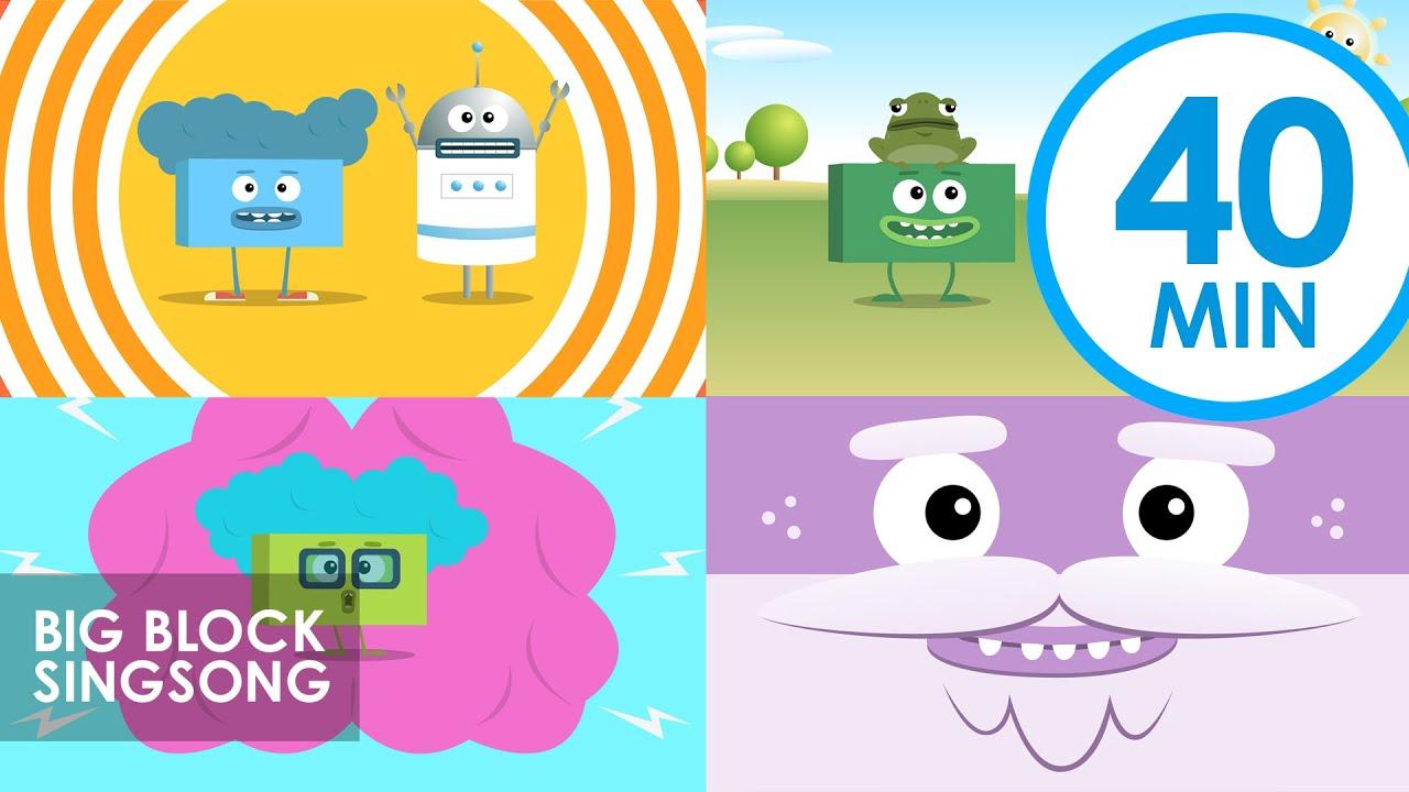 Big Block Singsong | Vol. 4 | Kids Cartoon Songs