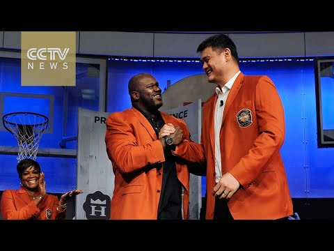 Yao Ming to become first Chinese to enter Basketball Hall of Fame