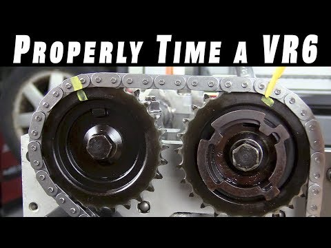 Фото к видео: How To Properly Time and Install Timing Chains on a VR6