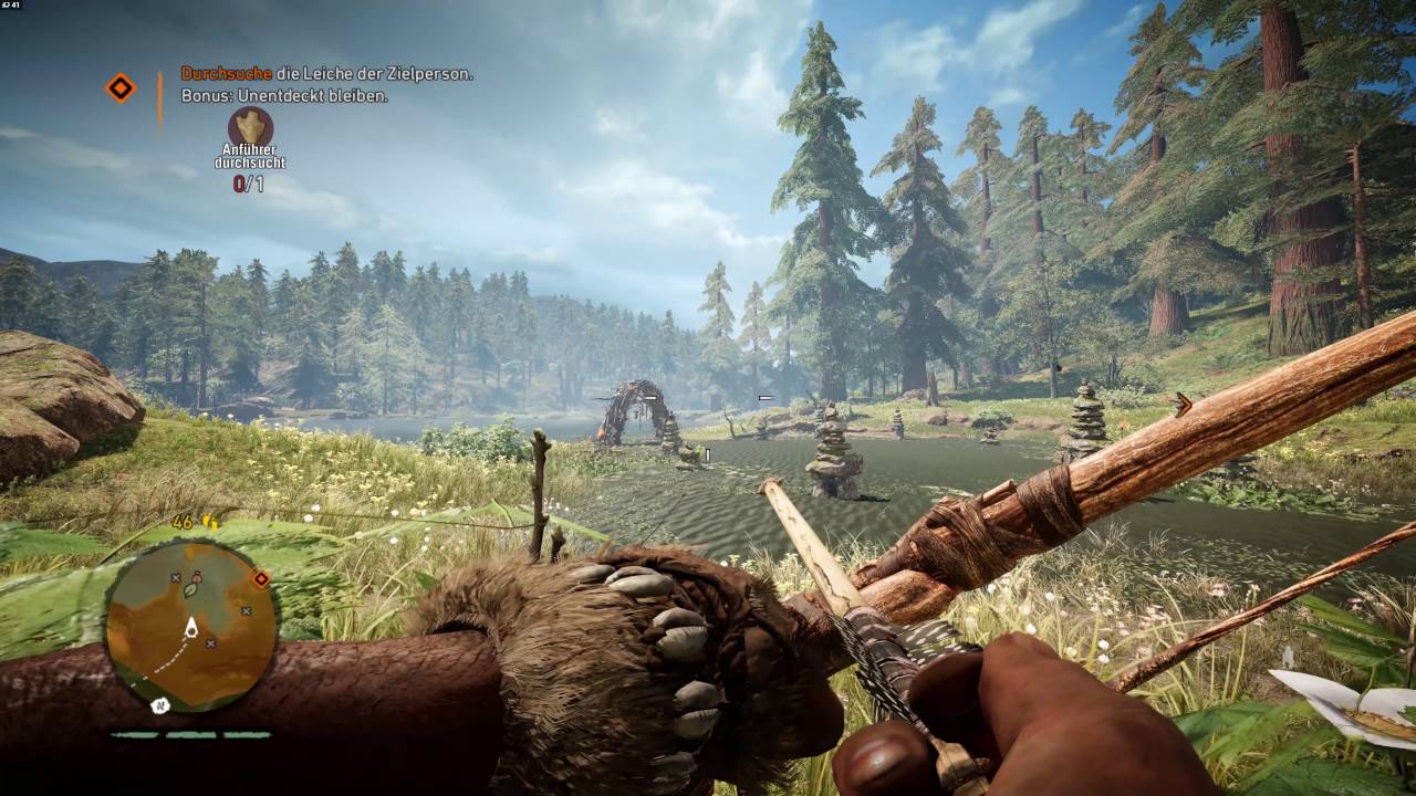 Far Cry Primal 4K Gameplay [PC]