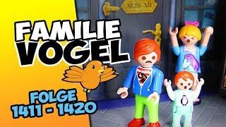 Playmobil Filme Familie Vogel: Folge 1411-1420 Kinderserie | Videosammlung Compilation Deutsch