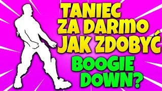 DANSE LIBRE ! COMMENT OBTENIR BOOGIE VERS LE BAS GRATUITEMENT! (Fortnite Battle Royale)
