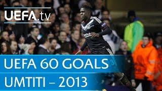 Samuel Umtiti v Tottenham, 2013: 60 Great UEFA Goals