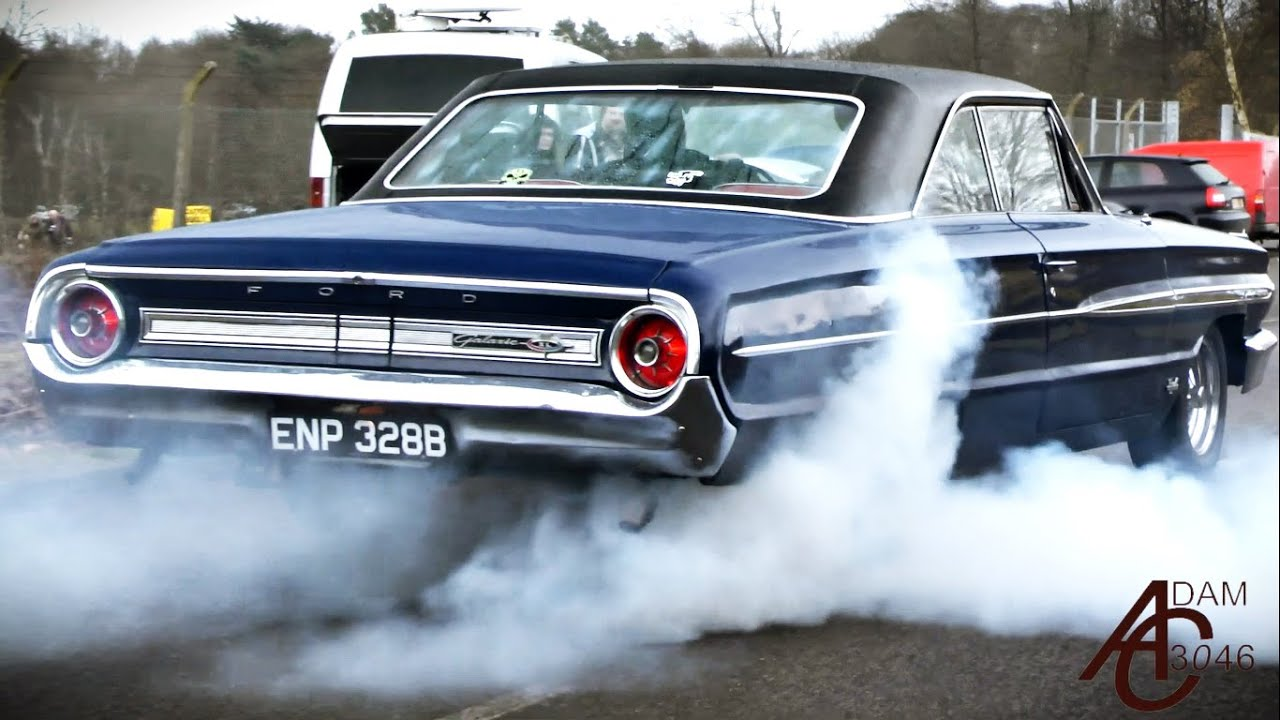 How Muscle Cars Leave A Car Show In The Wet YouTube - Muscle car show