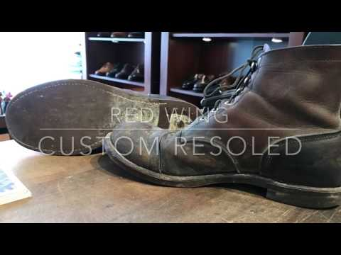 Red Wing Custom Resoled