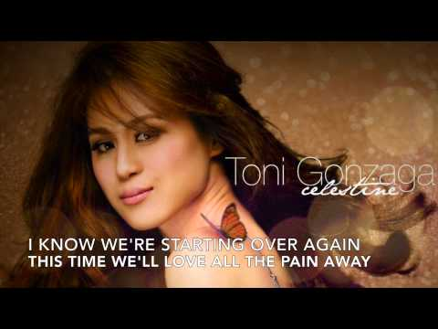 Starting Over Again  Toni Gonzaga Lyrics