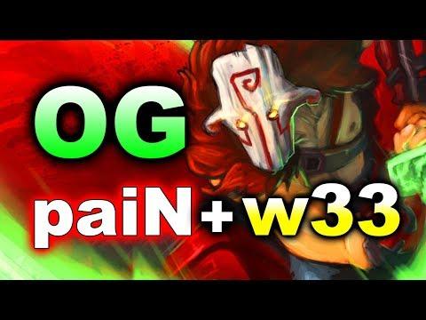 OG vs PaiN Gaming + W33 - GALAXY BATTLES 2 DOTA 2