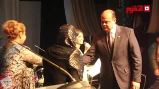 بالفيديو.. تكريم نجوم الفن والإعلام بحفل أوسكار الشرق الأوسط
