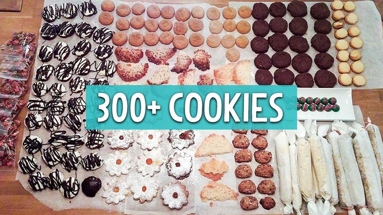 Christmas Cookie Bake Off 2017 300 Cookies