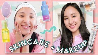 Simple Daytime Skincare + Make…