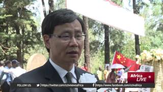 CCTV - Chinese Doctor Who Has Been Giving Cervices  At Jimma Town And  who Have Passed On Remembered