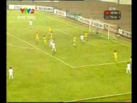 Aff Cup Final Match 2nd leg - Vietnam(2) 1 - 1 Thailand(1) (1st Half) . Vietnam won the cup