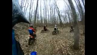 Movie - Southern MD Dirt Ride 3-24-2013