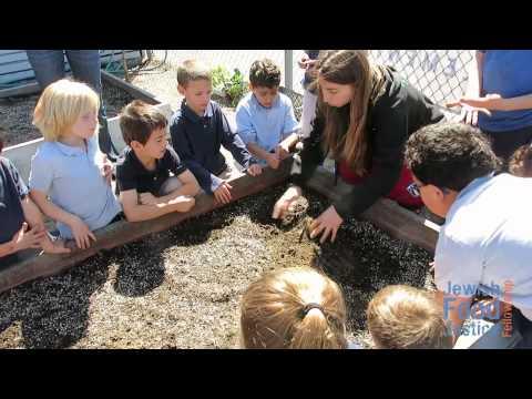 Building School Gardens at Kavod Elementary Charter School