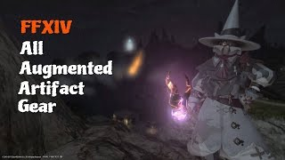FFXIV All Augmented Artifact Gear [feat. A12 Theme (Rise)]