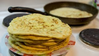 Хычины балкарские с картофелем и сыром