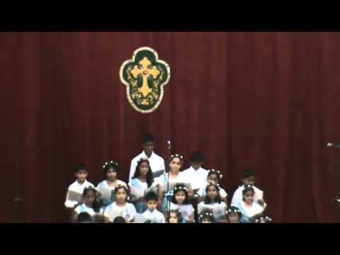 St Andrews Marthoma Church - Secunderabad - Junior Choir - Welcome to our world