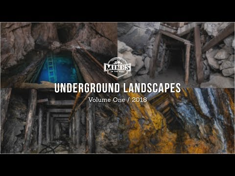 Underground Landscapes Vol. 1 - Abandoned Mine Photography Showreel: 2018 (4K)