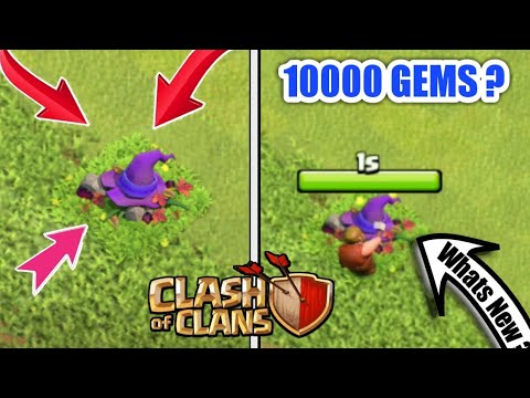 Witch Hat: New Halloween Clash of clans ||whats inside? Can we get 10000 Gems