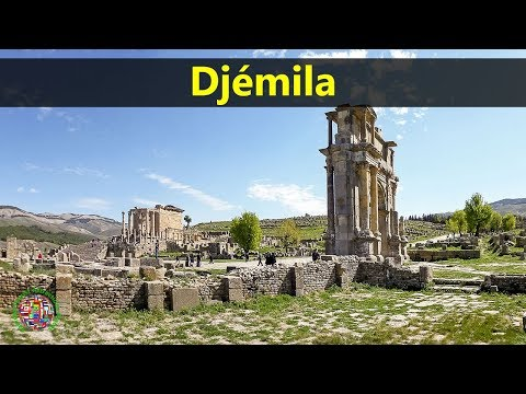 Best Tourist Attractions Places To Travel In Algeria | Djémila Destination Spot