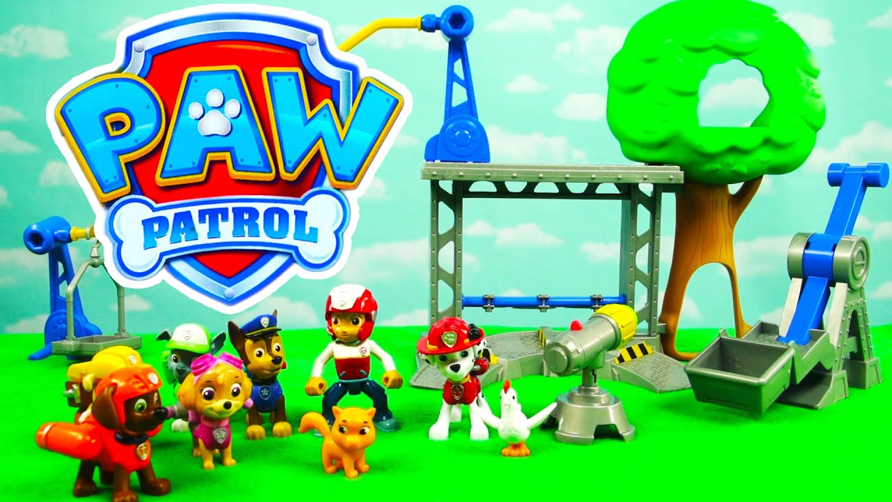 Paw Patrol Adventures Training Day For The Pup with Precious and Chickaletta