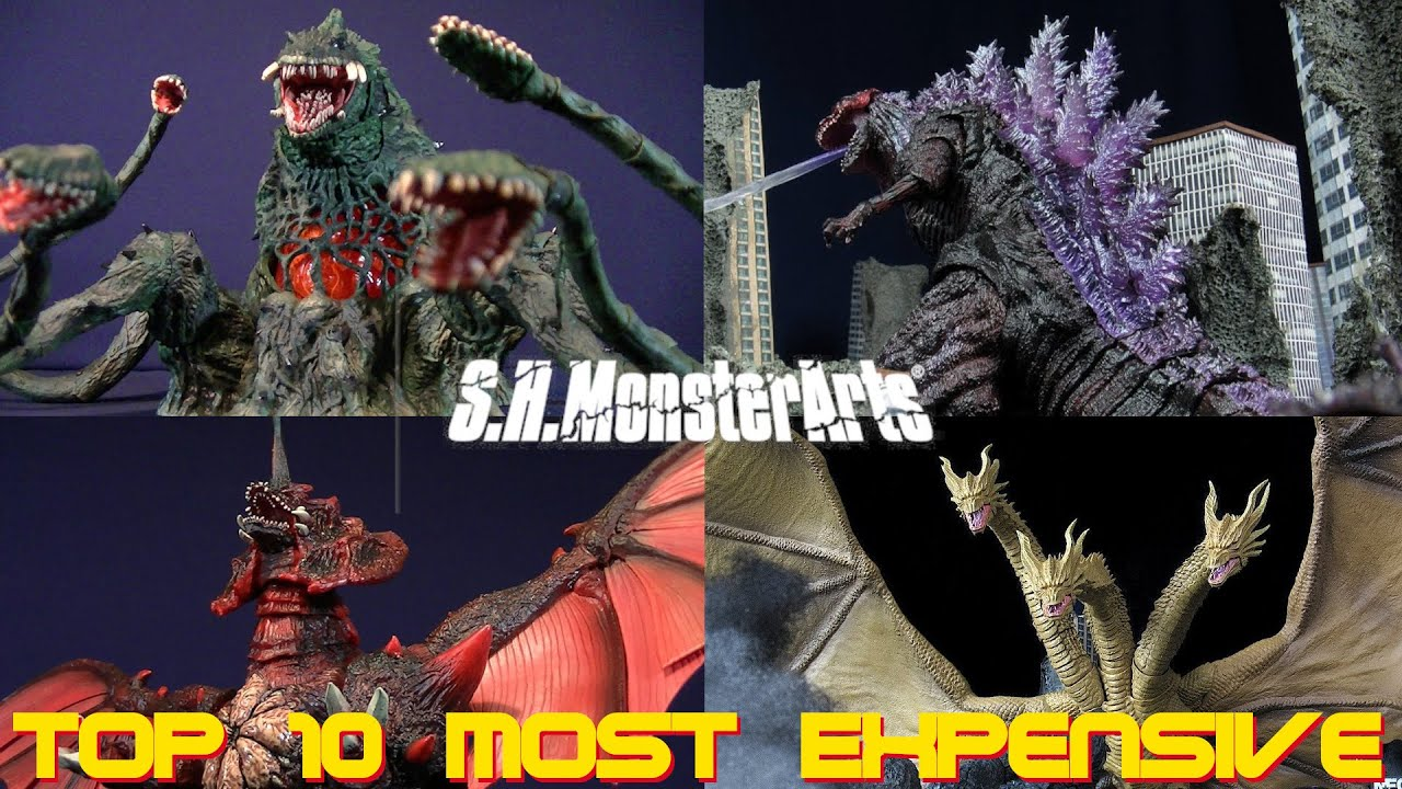 Top 10 Most Expensive SH MonsterArts Godzilla/Kajiu Figures (2021 List) - These Prices Are Crazy!!!
