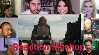 Star Wars  The Last Jedi Official Trailer REACTION MASHUP