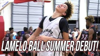 LaMelo Ball Triple Double (7 THREES) - Summer AAU Debut FULL HIGHLIGHTS (36 Pts/14 ast/10 reb)
