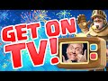 Clash Royale ♦ How To Get on TV Royale! ♦