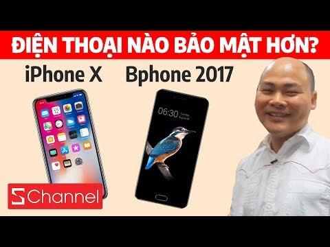 """CEO BKAV nói gì khi được hỏi """"Bphone hay iPhone X bảo mật hơn?"""""""