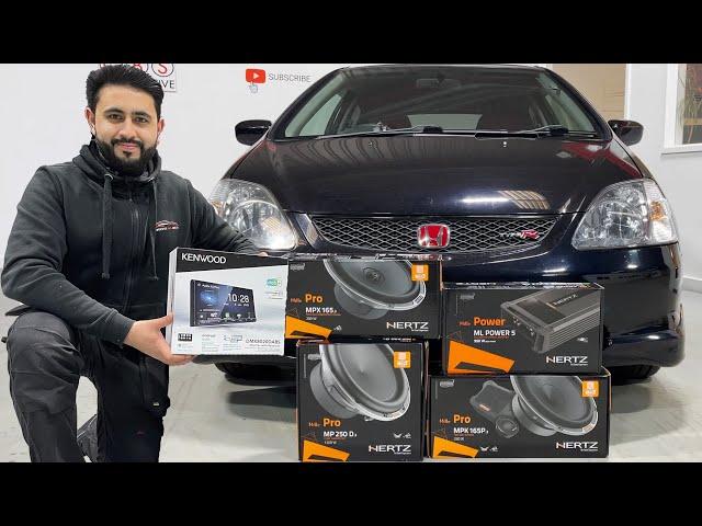 Honda Civic Type R | Custom Audio Upgrade Overview