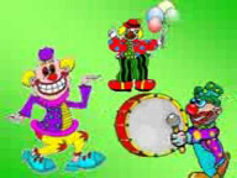 CANCION INFANTIL  EL PAYASO PLIN PLIN Videos De Viajes