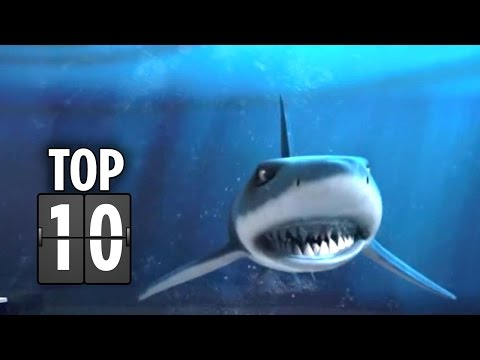 Top Ten Shark Movie Moments - Movie HD