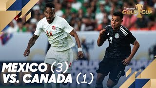 Mexico (3) vs. Canada (1) - Gold Cup 2019