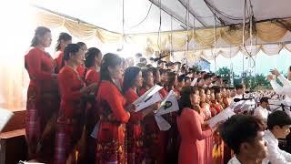 Dâng lễ ca doan hiệp nhất gx Cồn Vẽ